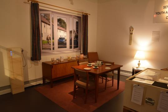 3 Army Wohnzimmer - Married Quarters