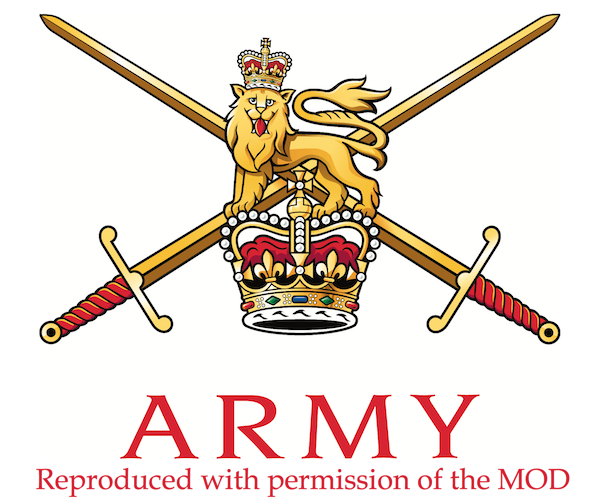 Logo der british army